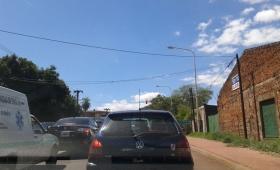 Caos en el tránsito en Costanera del acceso sur