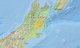 Nueva Zelanda: alerta de tsunami tras un terremoto