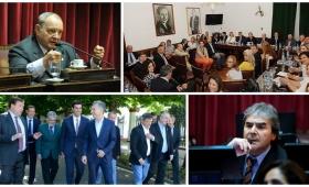 Irrazábal y Cabral Arrechea, entre los senadores que bloquearon la Reforma Política