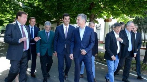 Sorpresiva asistencia de Passalacqua a la reunión con Macri