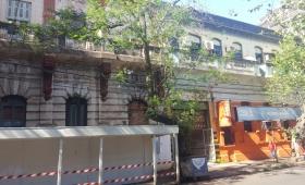 Tasan el edificio del ex Hotel Savoy