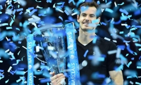 Murray se coronó en el Master de Londres y cierra el año como nro. 1 del tenis