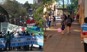 Día de protesta: movilizaciones de ATE y CTA y dudas sobre los colectivos