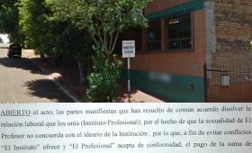 Profesor discriminado por contraer matrimonio igualitario