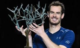 Murray estrenó el nro. 1 del mundo, ganando su primer Master de París