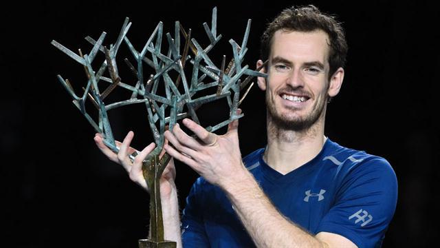 Andy Murray salió campeón en Paris