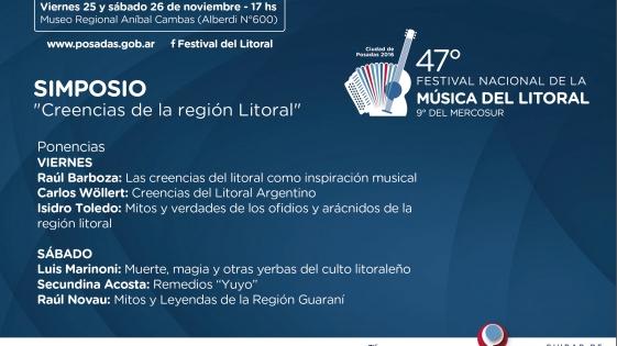 Festival del Litoral: debatirán sobre yuyos, magia y creencias de la región