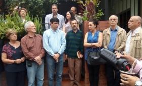 Colocaron una placa de homenaje en la casa de Olga Zamboni