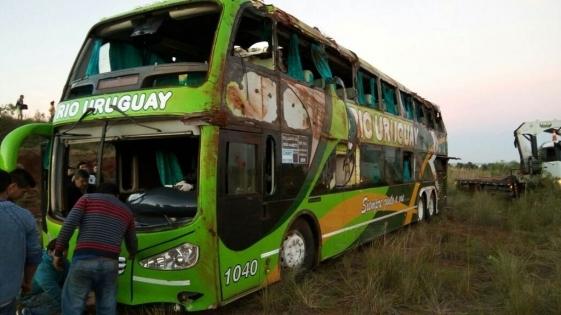 #TragediaEnBrasil: quedó libre el chofer del micro estudiantil