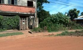 Denuncian terreno baldío en estado de abandono en la Chacra 91