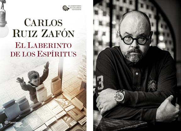 La última novela del español Ruiz Zafón sigue en la cima de los ...
