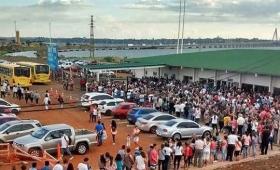 Dos millones de personas pasaron al Paraguay en tren