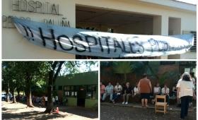 Con la anuencia de Agulla, despidieron a 9 enfermeros por la protesta
