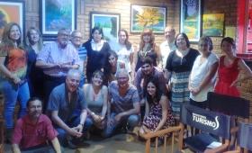 El escritor Jorge Boccanera se reunió con poetas de Misiones