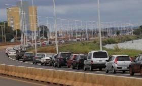 Siguen sin usarse las casillas móviles en el Puente Internacional