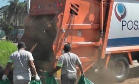 Nuevos horarios de recolección de residuos en el microcentro
