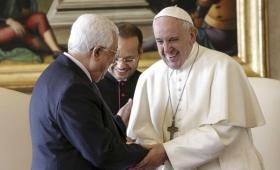 """Francisco le pidió a Abbas """"decisiones valientes por la paz"""""""