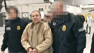 """""""Chapo"""" Guzmán llegó a Estados Unidos extraditado desde México"""