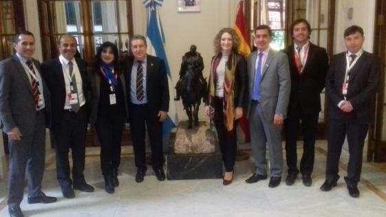 España: Puerta recibió a una delegación misionera