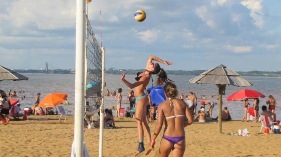 El fin de semana se disputará un torneo de Vóley de Playa en El Brete