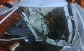 Capioví: seis heridos tras choque entre un camión y un auto