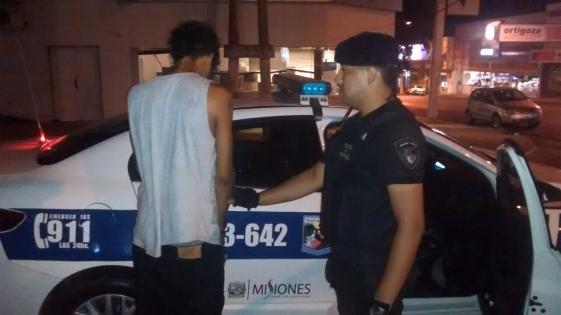 Amenazó a un joven con un destornillador y terminó detenido