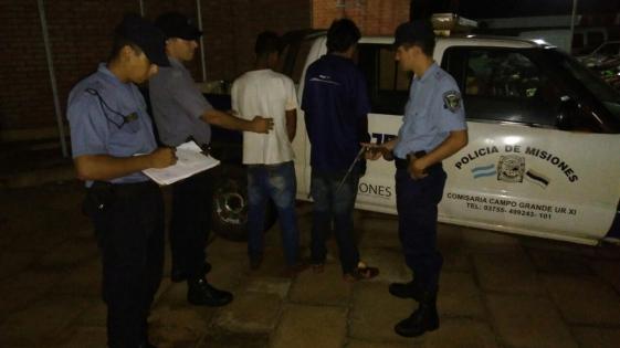 Detuvieron a dos jóvenes por tentativa de homicidio en Campo Grande