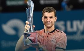 Dimitrov, campeón en el ATP de Brisbane 2017
