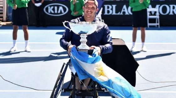 Abierto de Australia 2017: Gustavo Fernández se consagró campeón