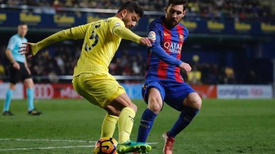 Messi la clavó en un ángulo para evitar la derrota del Barcelona