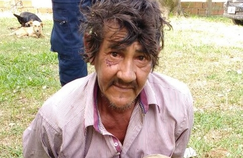 La foto de Manuel Rivero luego de ser detenido