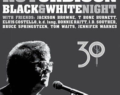 "Edición ampliada del DVD ""Black & White Night"" de Roy Orbison"