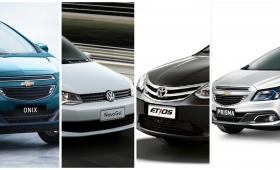 ¿Cuáles fueron los autos más vendidos del 2016?