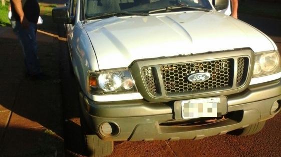 Secuestraron una camioneta en el marco de una causa por homicidio