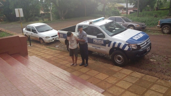 Detenido por agredir a escobazos a su tío