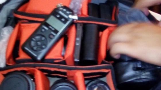 Recuperaron costosos equipos robados a una productora audiovisual