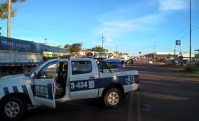 """Detuvieron a un conductor """"descontrolado"""" en Garupá"""