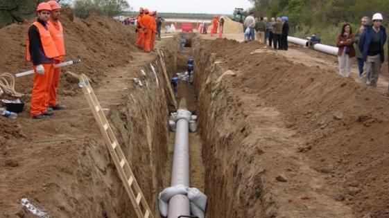 El Gobierno ordenó paralizar las obras en el gasoducto del Noreste