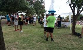 Arrancó la maratón en recuerdo de las víctimas de la Tragedia del Paraná