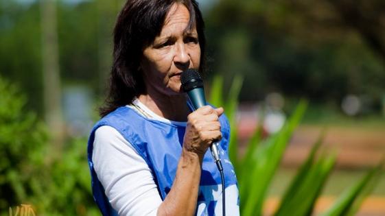 """Falleció Blanca """"Nina"""" Somariva, la histórica dirigente de ATE y CTA"""