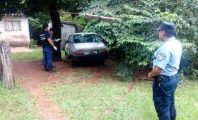Encuentran en Garupá un R12 robado en Posadas; un detenido