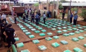 Marihuana en Misiones: 11 toneladas en 3 meses