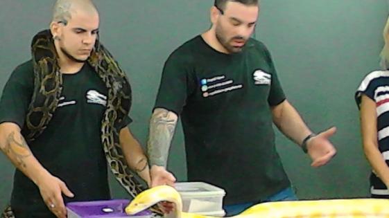 Vivir entre las serpientes