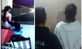 El video de la niñera que maltrató a dos niñas en Puerto Iguazú