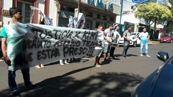 """Marcha por David Yañez: """"Queremos preso al asesino"""""""