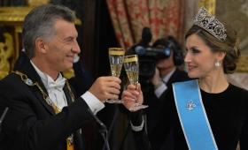 #EnFotos: la cena de gala en el Palacio Real