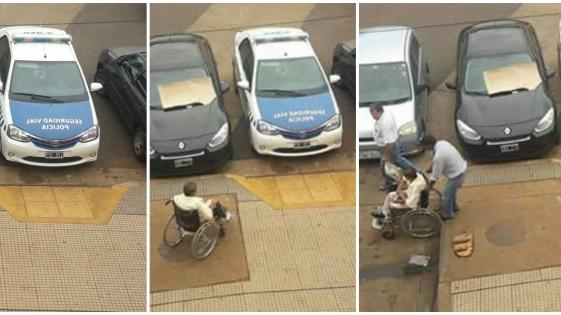 Fotonoticia: El móvil pertenece al Jefe de Seguridad Vial