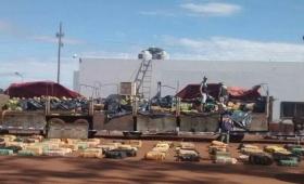 #Narcosandías: 6 mil kilos de droga camuflada entre frutas