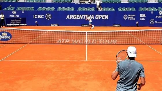 Se sorteó el cuadro del Argentina Open que arranca este lunes