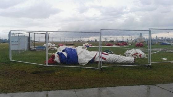 Accidente en el tobogán: darán informe sobre heridos